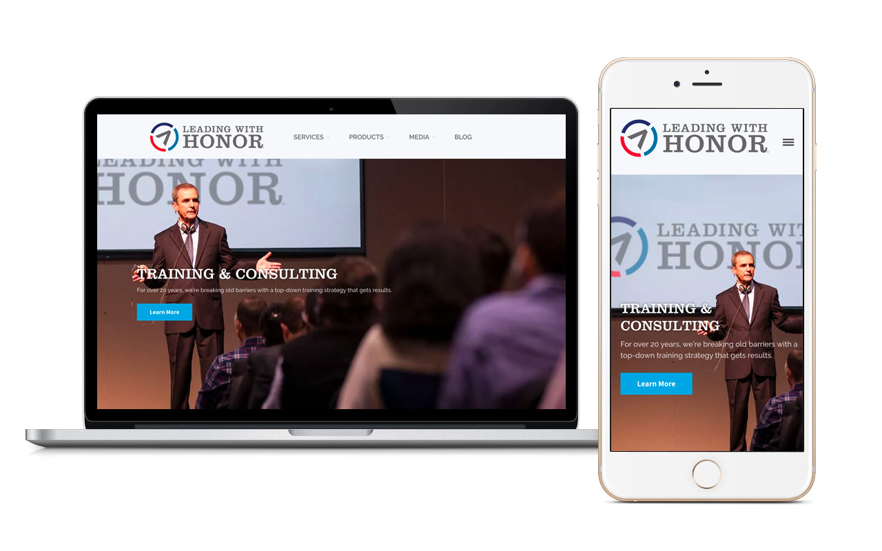 Leading with Honor Website
